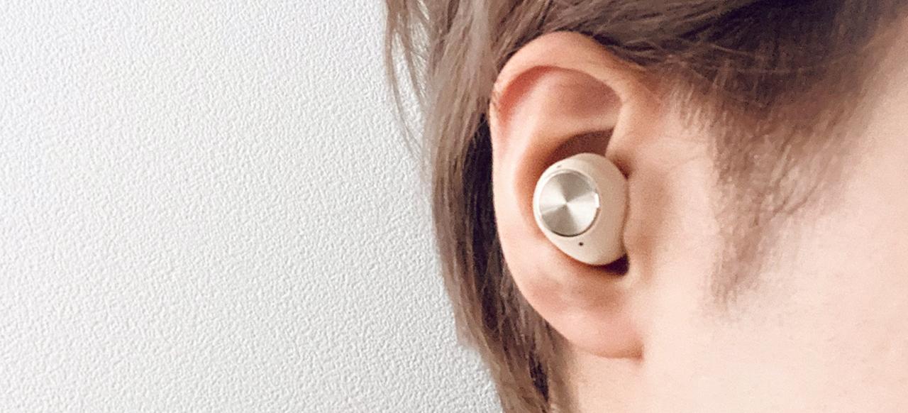 Sudio T2 耳に着けた画像
